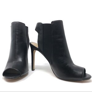 Vince Camuto Leather Kylie Slingback Booties